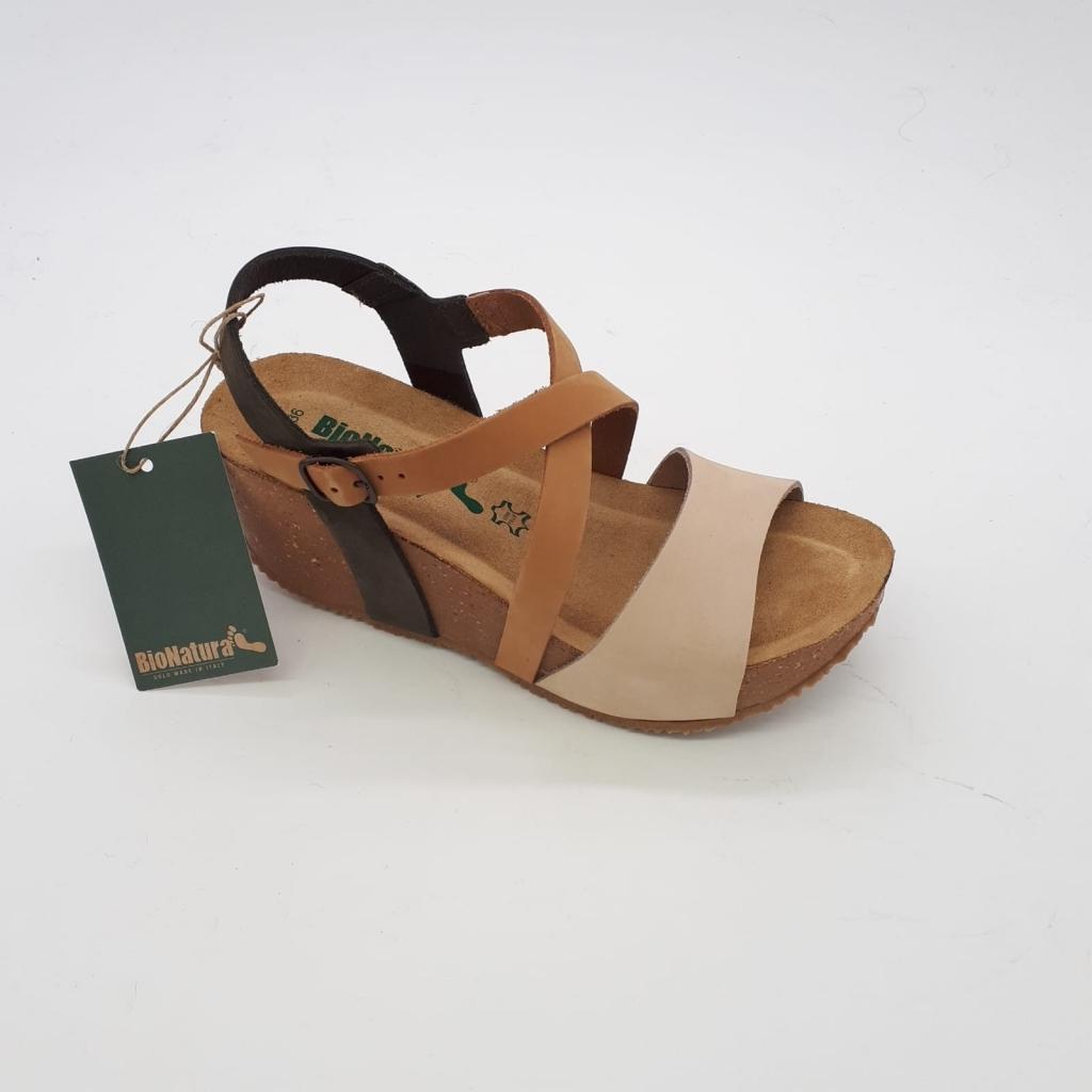 Sandalo Bionatura Sandalo Multicognac Donna Multicognac Donna ZkOiPXu